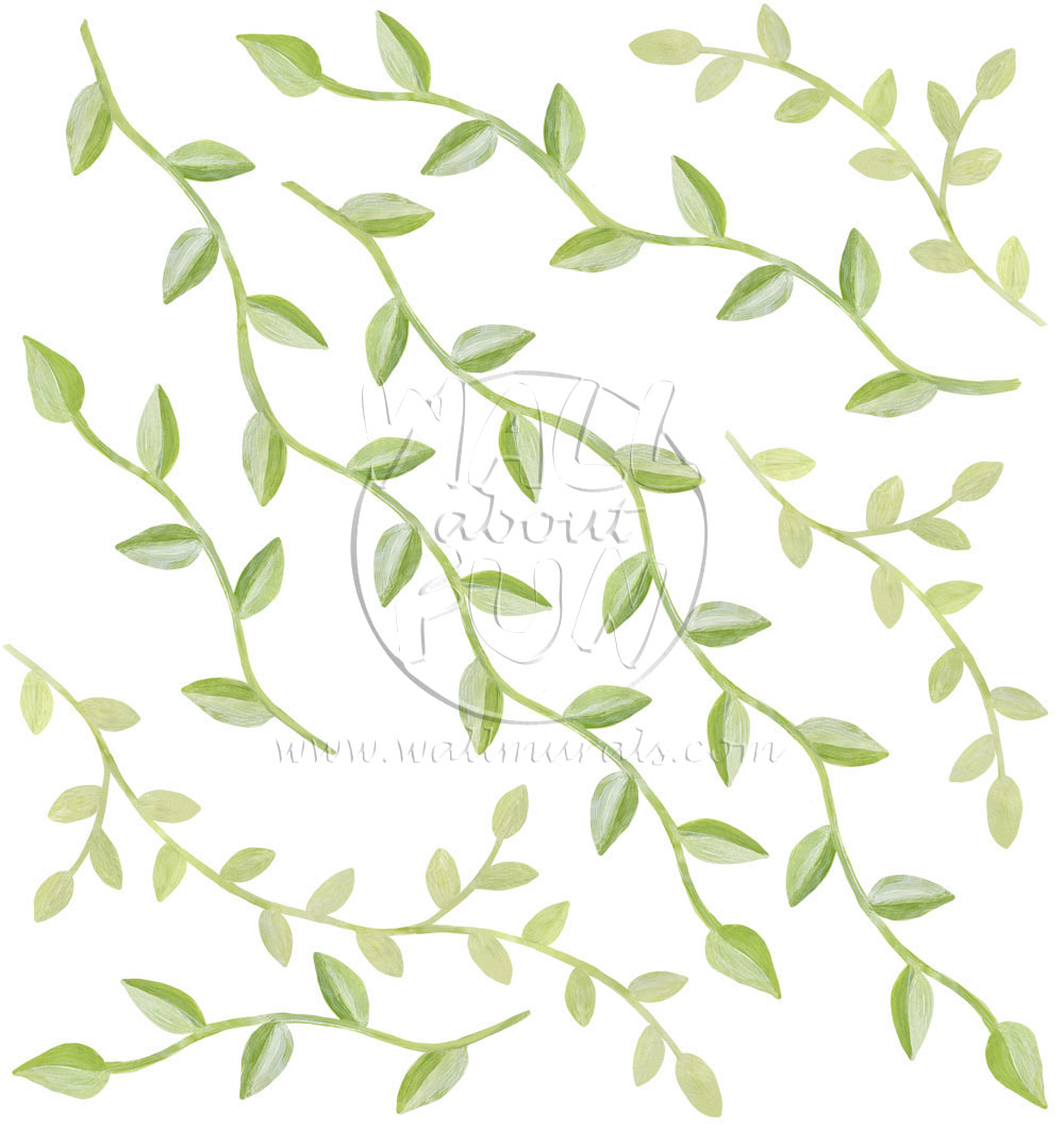 vine wall decals image gallery large wall decals vines