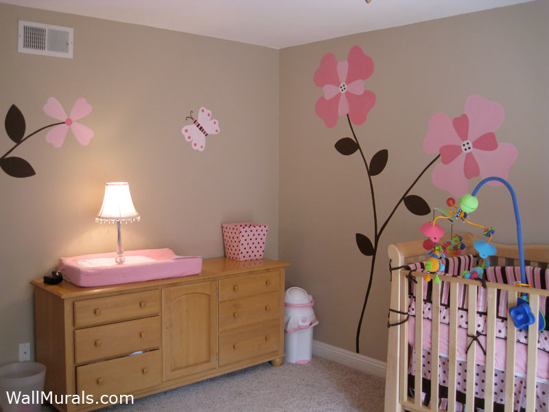 NURSERY WALL MURALS - BABY ROOM WALL MURALS (page 4)