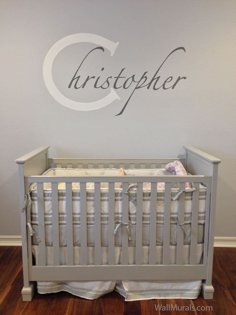 Baby Room Murals: Baby Room Wall Murals By Colette: Nursery Wall Murals For