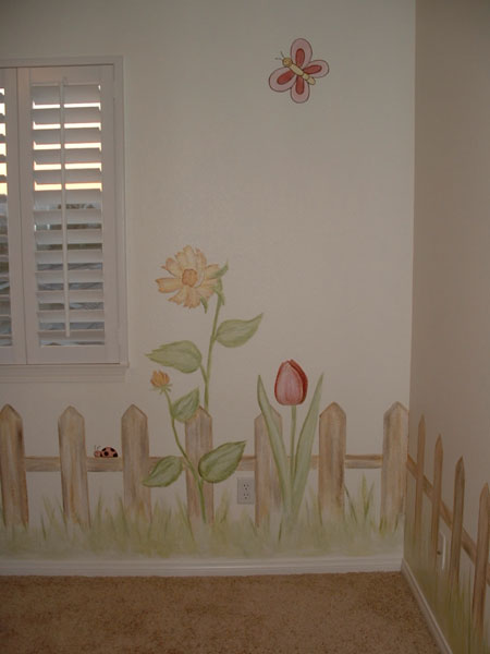 GIRLS ROOM WALL MURALS - WALL MURALS FOR GIRLS (page - 1)
