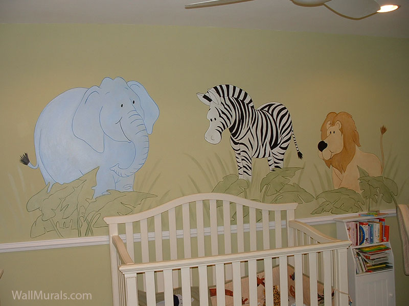 Jungle Wall Murals By Colette: Safari
