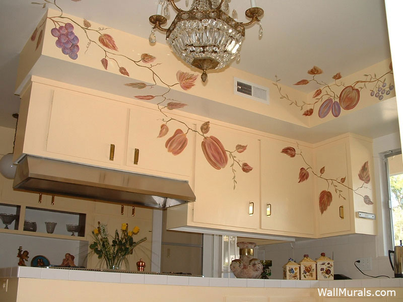 kitchen wall murals by colette kitchen murals kitchen