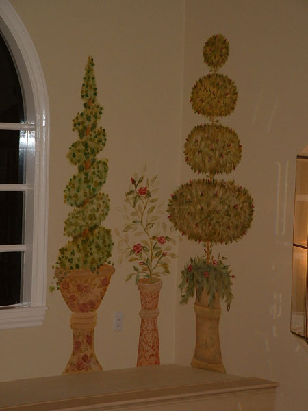 Living Room Wall Murals By Colette Bar Murals Dining