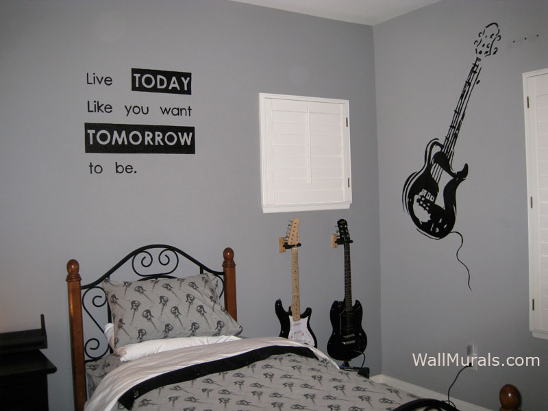 Music Wall Murals by Colette  Music Theme Wall Murals   Music Borders