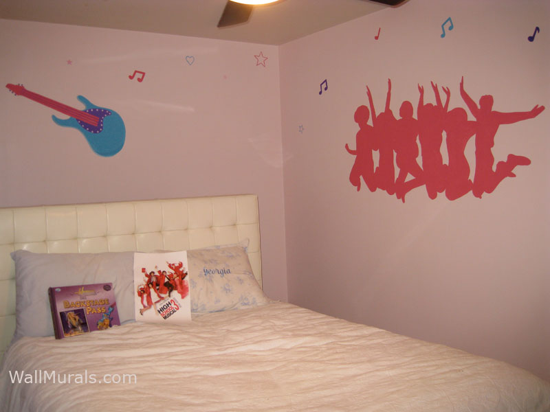painted wall murals for teens submited images