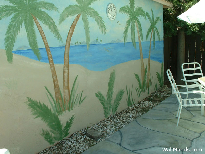 Outside Wall Murals By Colette Murals Painted Outside
