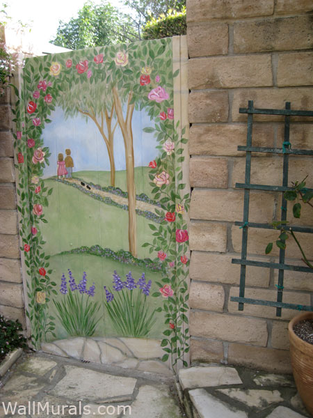 outside wall murals by colette murals painted outside outside wall mural www imgarcade com online image arcade